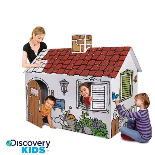 Discovery Kids Cardboard Playhouse