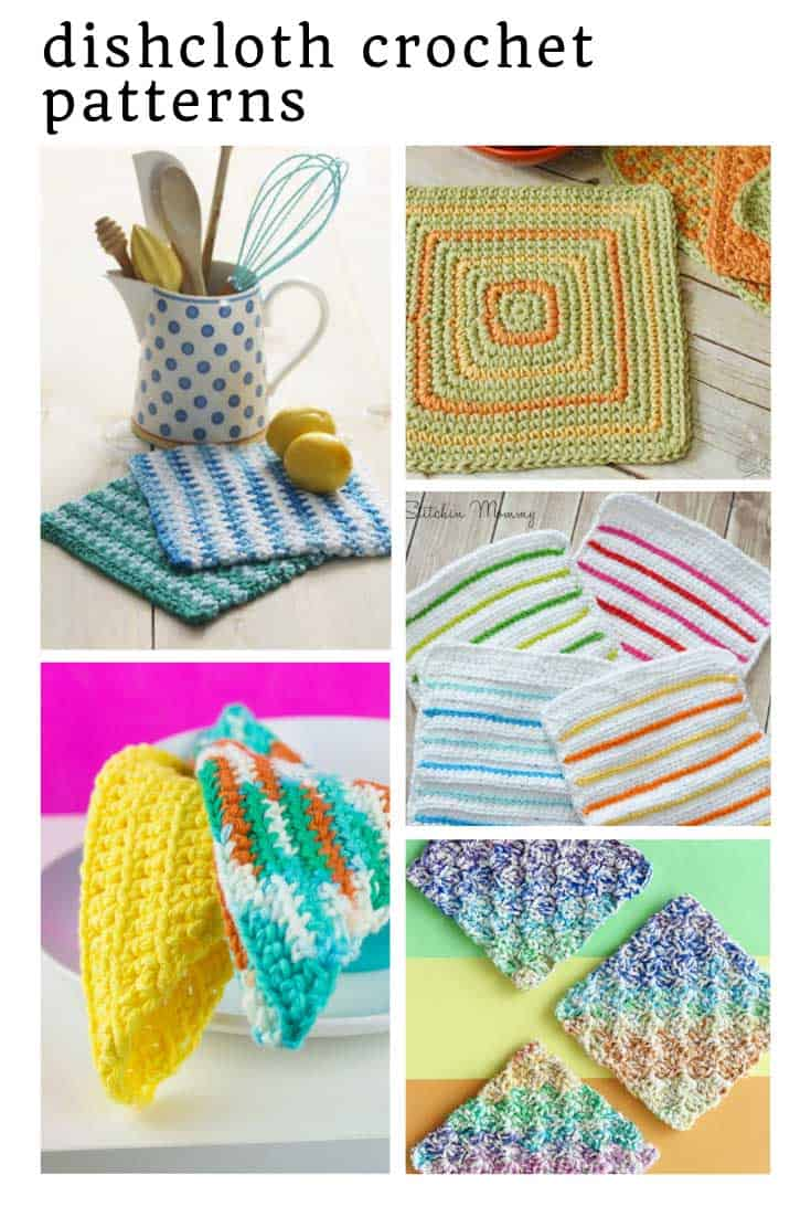 Loving these crochet dishcloth patterns - especially as they're free!