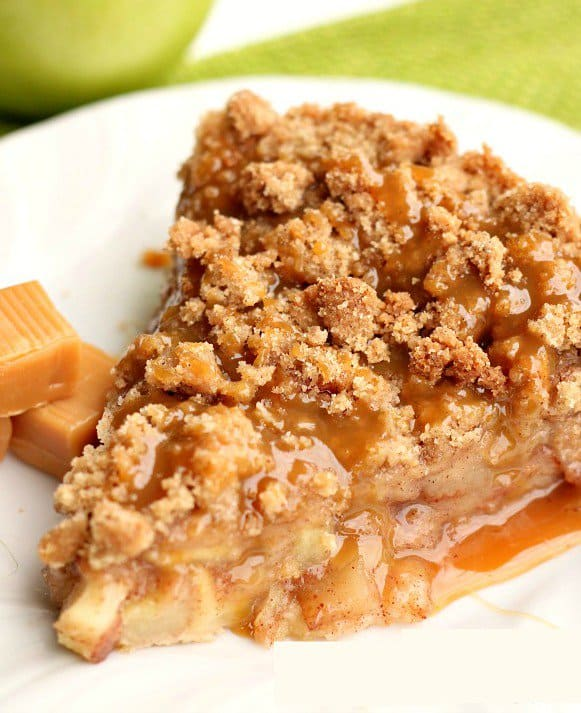 Disney's Apple Caramel Pie