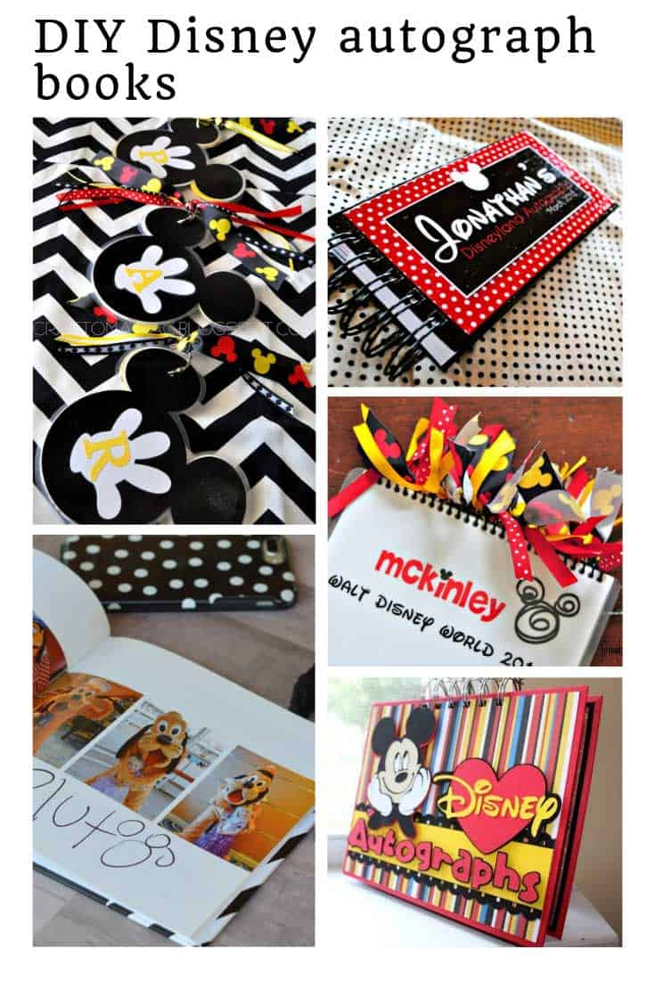 LOVE these Disney Autograph book ideas for our trip!