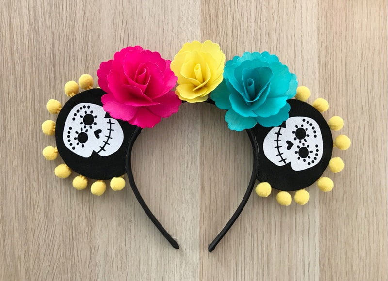 Homemade Coco Mickey Ears