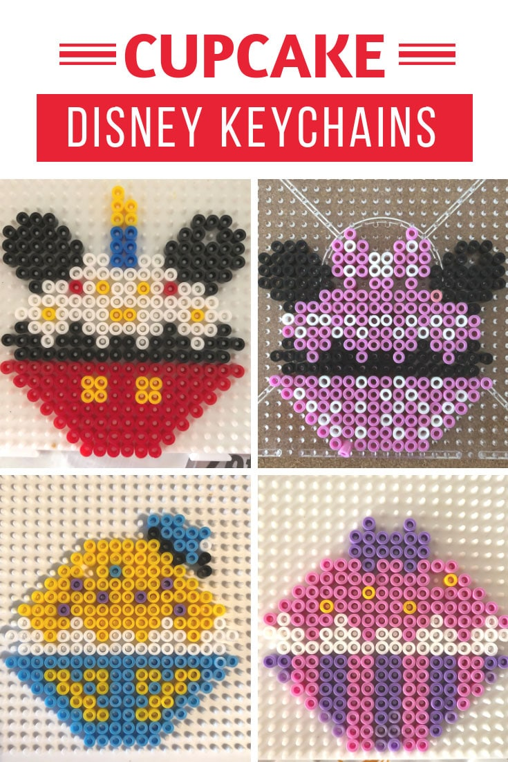 Disney Cupcake Perler Bead Ideas
