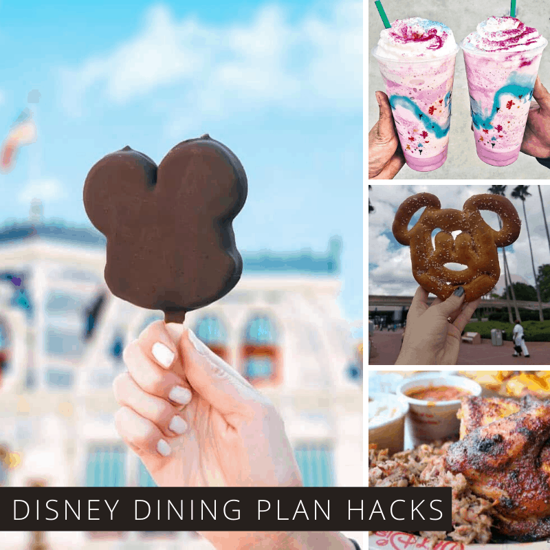 These Disney Dining Plan hacks are so good you better pack pants with a stretchy waistband!