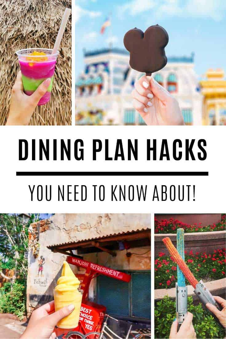 Loving these Disney dining plan hacks! So many ways to make sure its worth it!