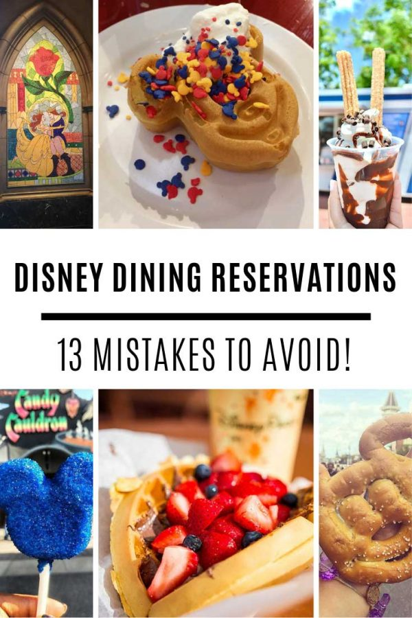 Who knew there were so many mistakes you could make with Disney dining reservations - these tips are priceless!