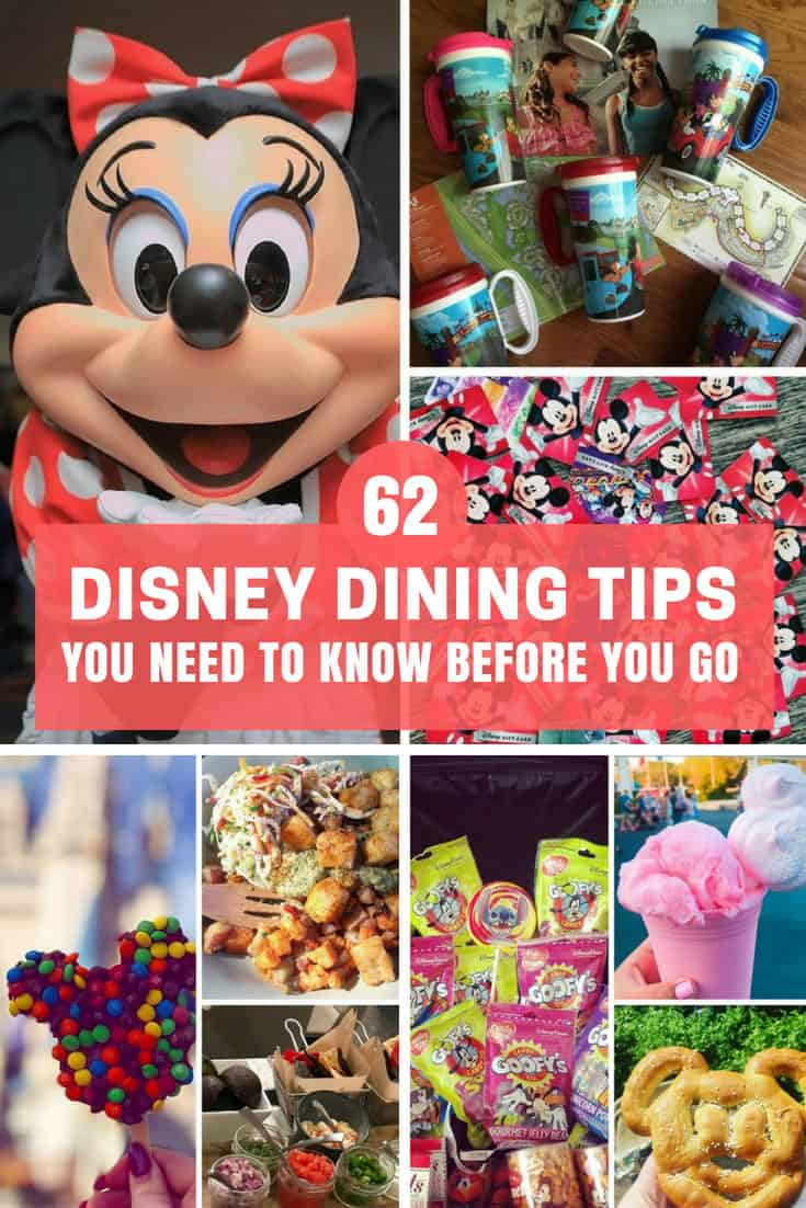 Disney Dining Tips You Need to Know Before You Go