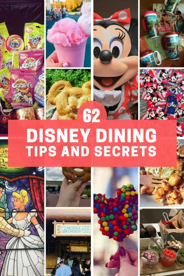 62+ Disney Dining Tips You'll Regret Not Knowing About