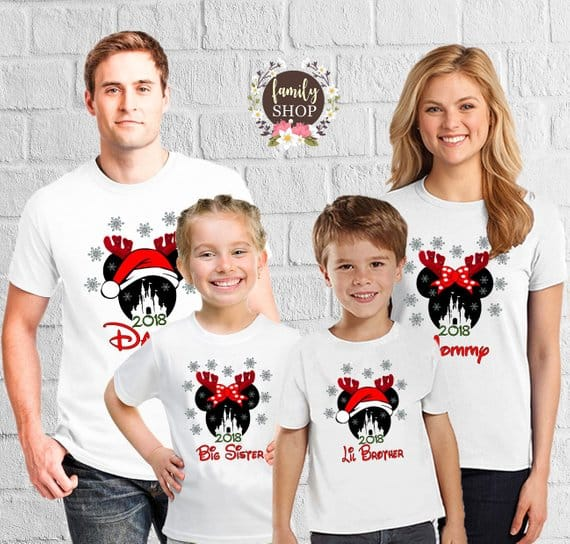 Disney Family Christmas Shirts