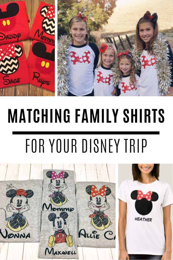 LOVE these Disney family shirt ideas for our vacation!