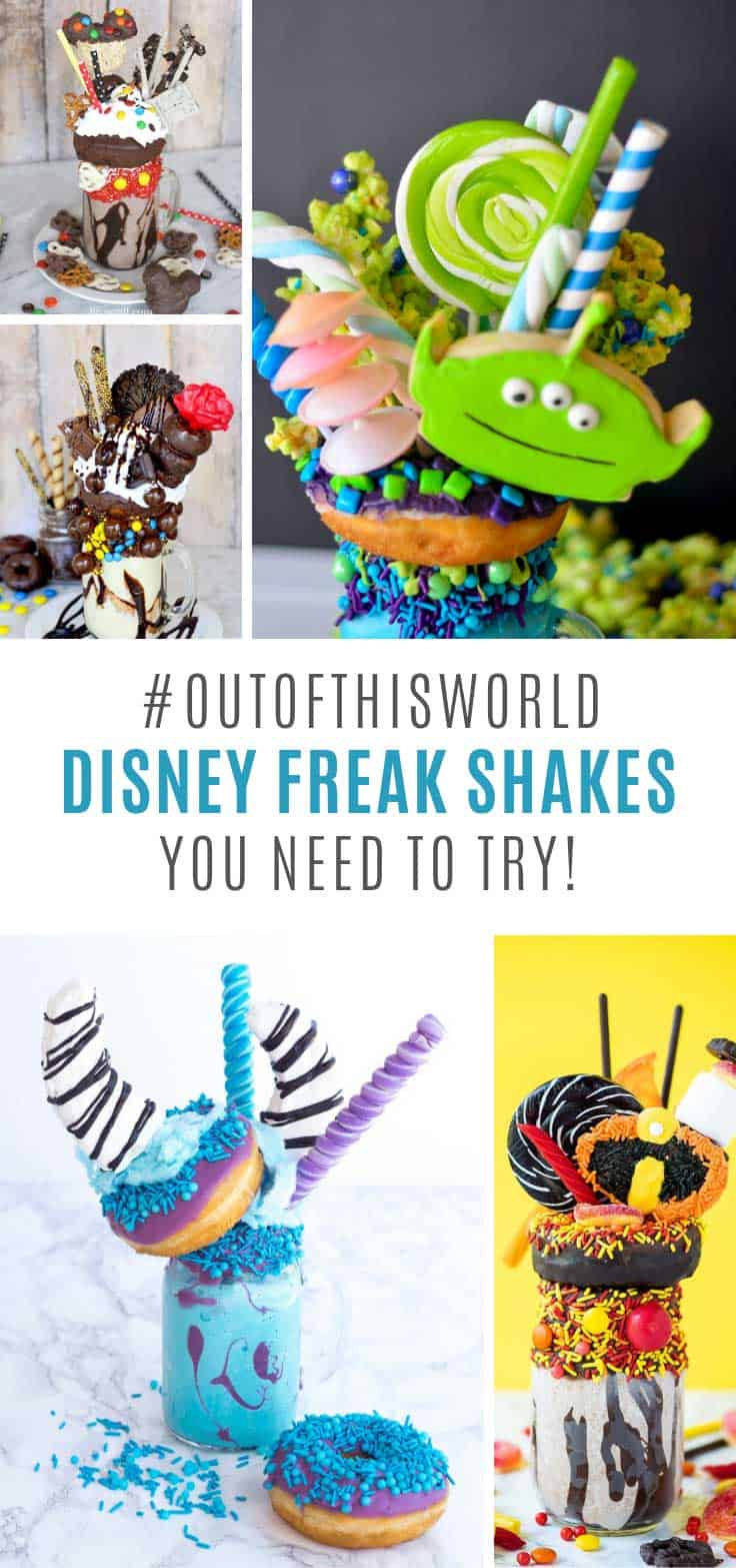 These Disney freak shakes are AMAZING!