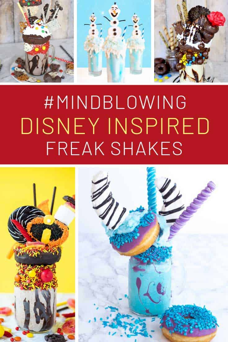 Oh my - these Disney freakshakes are INCREDIBLE!