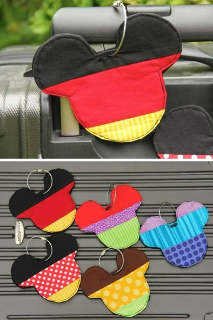 Disney Inspired Luggage Tags