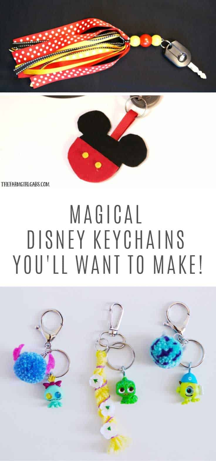 These Disney keychain ideas are just magical!