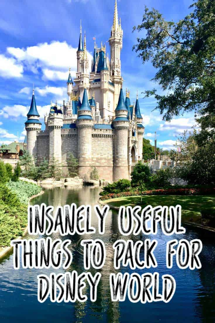 If you're looking for the ultimate Disney packing list you found it! We're not talking shorts and tshirts but the really useful stuff you'd never think to pack for your Disney trip but will be super pleased you have with you!
