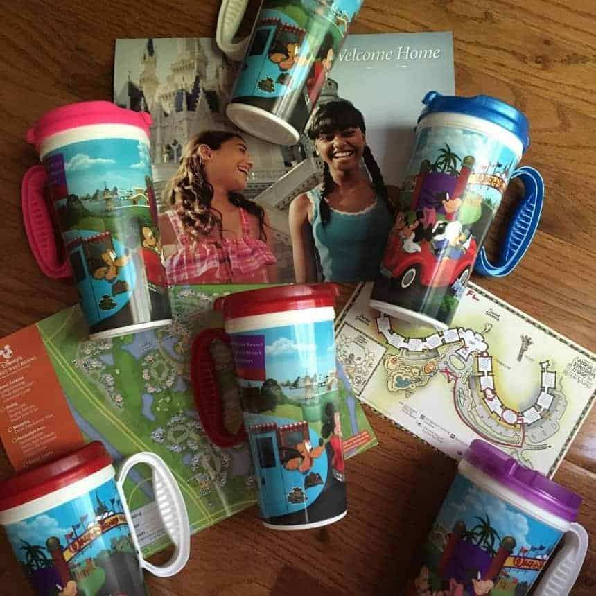 Disney Refillable Resort Mug Unlimited drinks for the price of a mug!