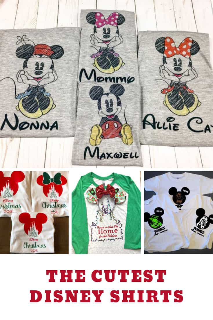 Disney Shirt Ideas