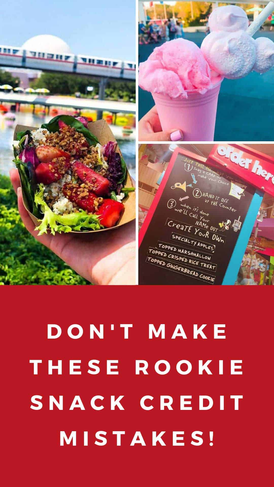 Use your dining plan snack credits wisely and you can really get the most value out of your meal plan. Check out our hacks to find out how to do it like a pro! No rookie mistakes for you!
