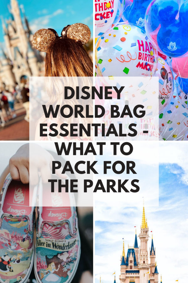 Wondering about Disney World bag essentials? Check out these top tips for what to take with you the theme parks - and the most popular bag to carry it in! #disneyworld #disneyplanning #travel