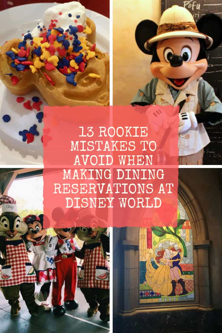 Disney World Dining Reservations How to Do it