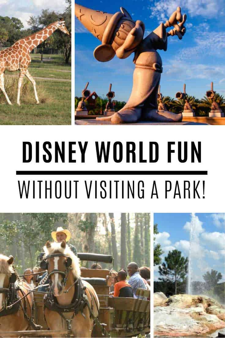 Fun things to do at Disney World without visiting the parks!