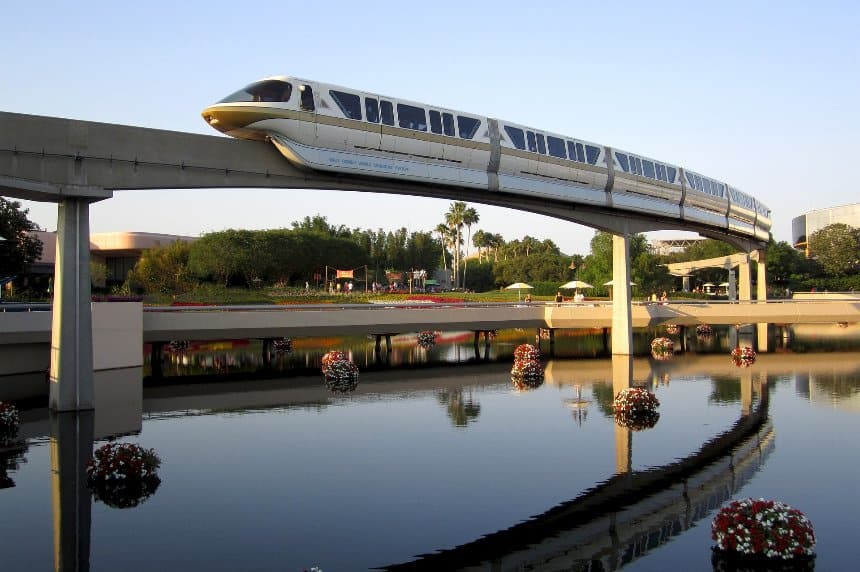 You can resort hop by monorail - but it's actually an experience in itself!