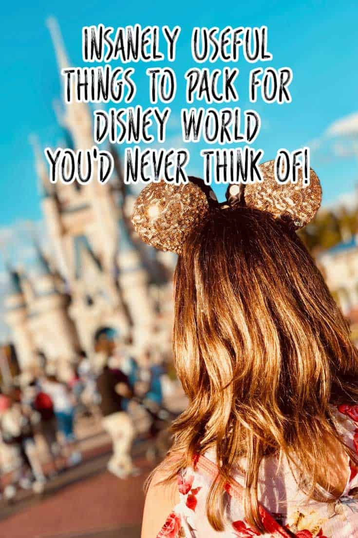 Don't leave for vacation without reading this Disney World packing list. It's the ultimate list of useful things you will need in Orlando and the Disney World parks! #disneyworld