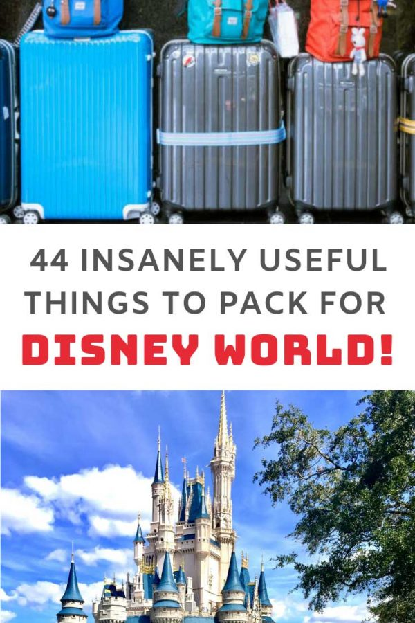 You have to see this Disney World packing list - so many things you'll never think to pack!