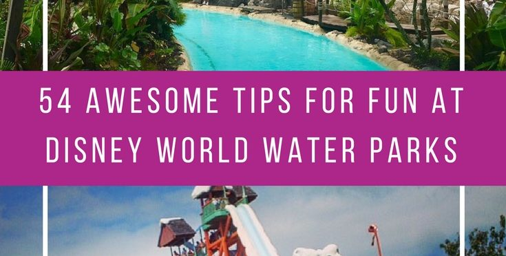So many great tips for having fun at the Disney World water parks! Thanks for sharing!
