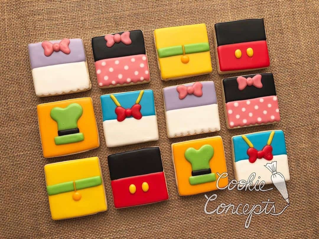 Disney Inspired Cookies