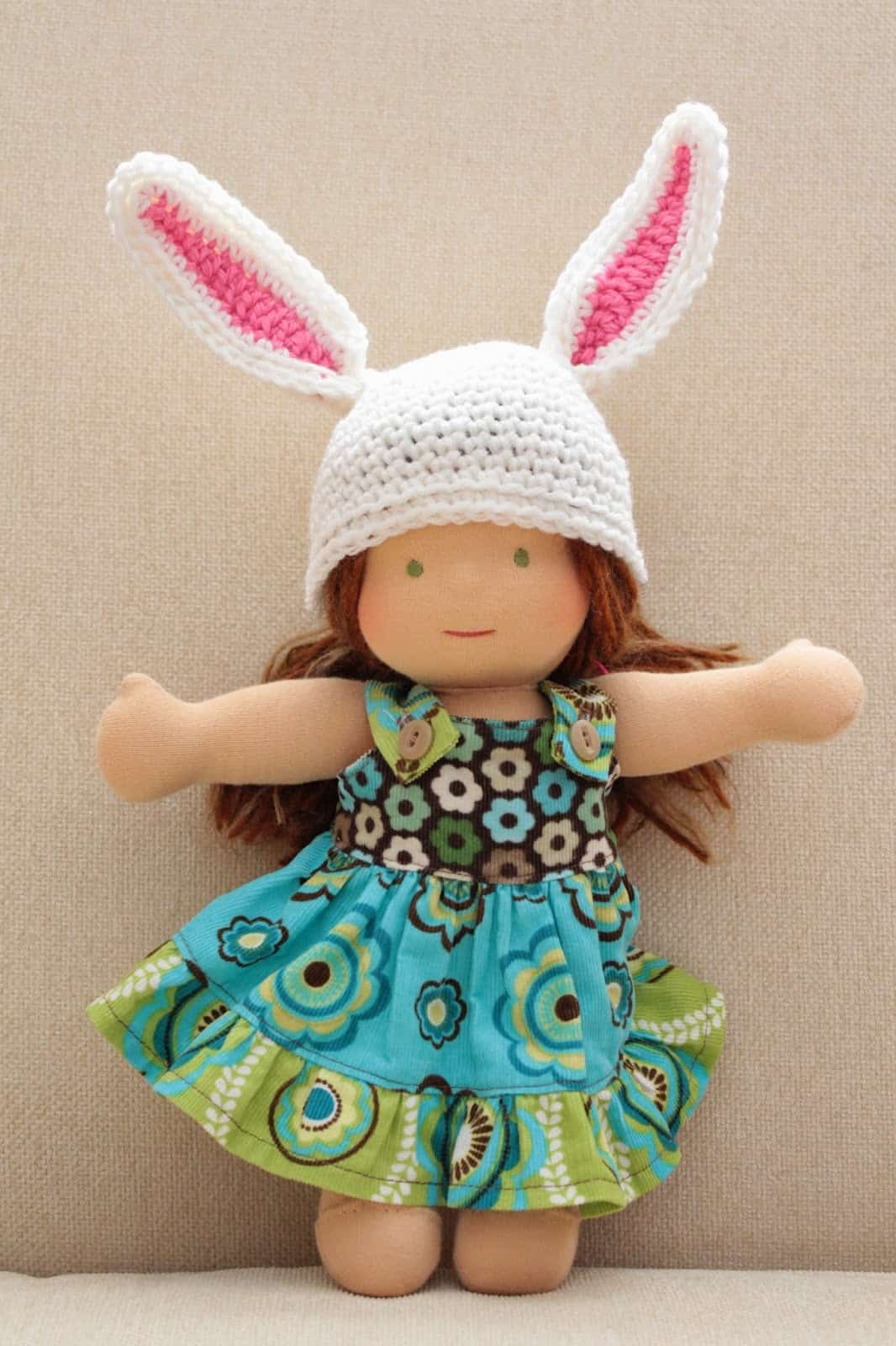 Doll's Bunny Hat