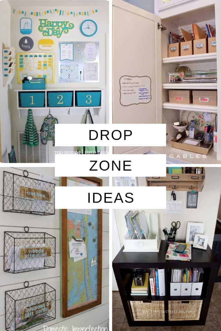 These drop zone command centers are the perfect way to take control of your chaos spot and make sure you never lose anything or forget to pay a bill again!