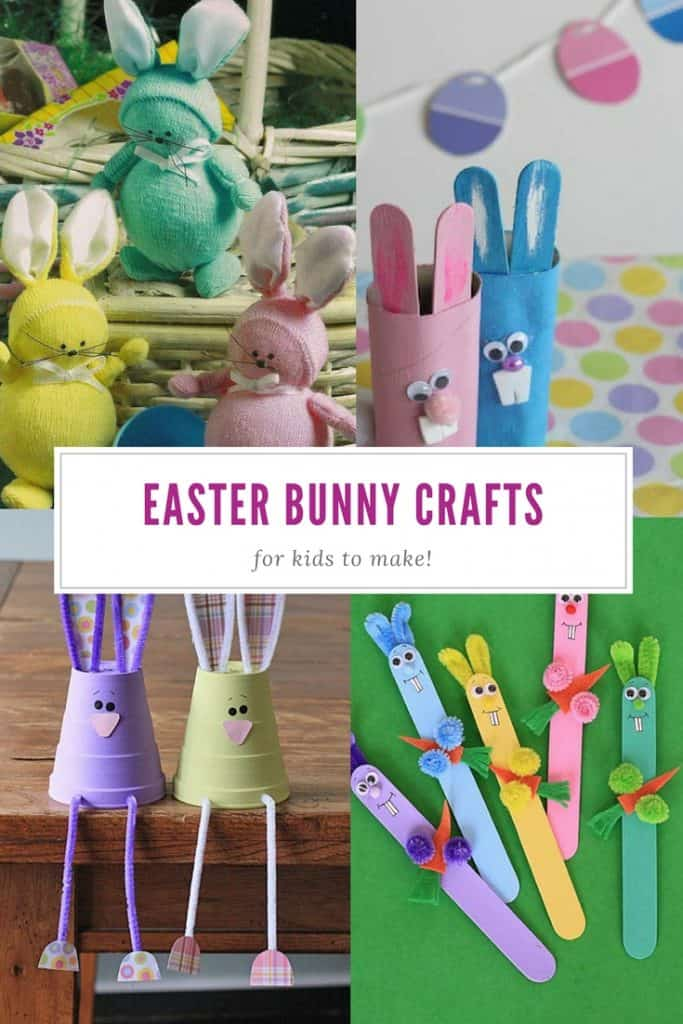 Easter Bunny Crafts for Kids to Make - Easter - Spring