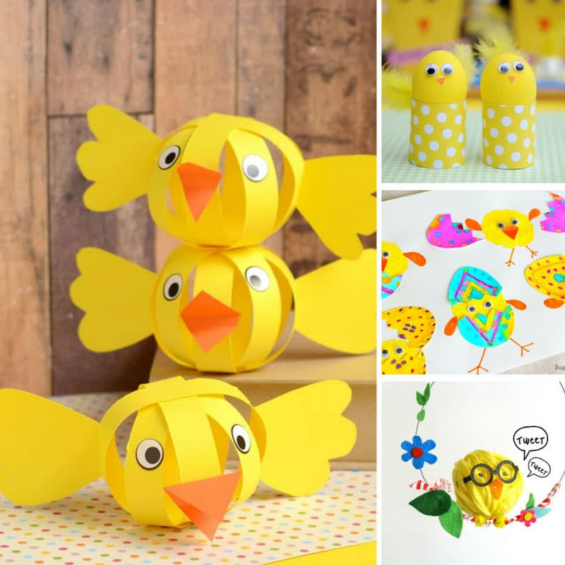 Easter Chicks Crafts for Kids