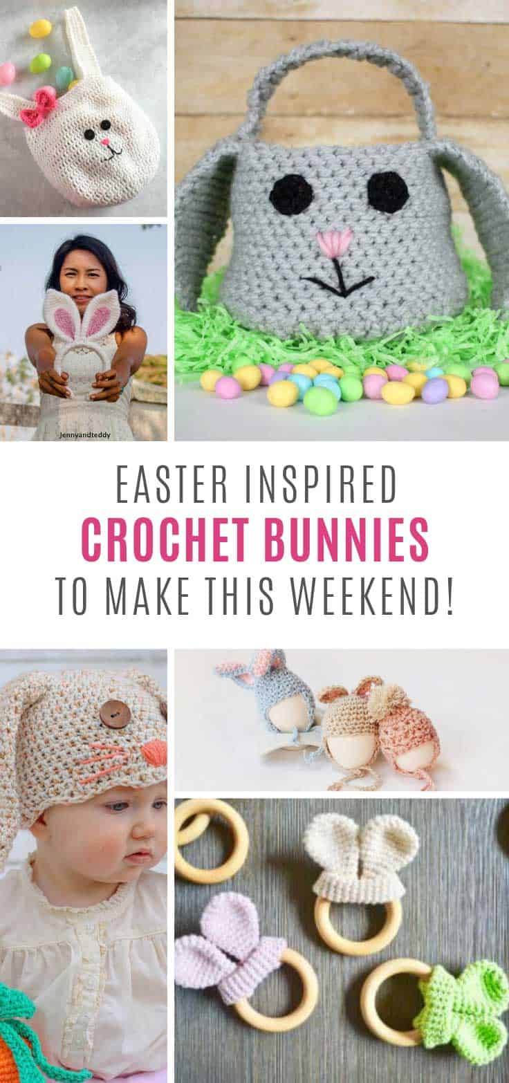 Loving these Easter crochet projects!