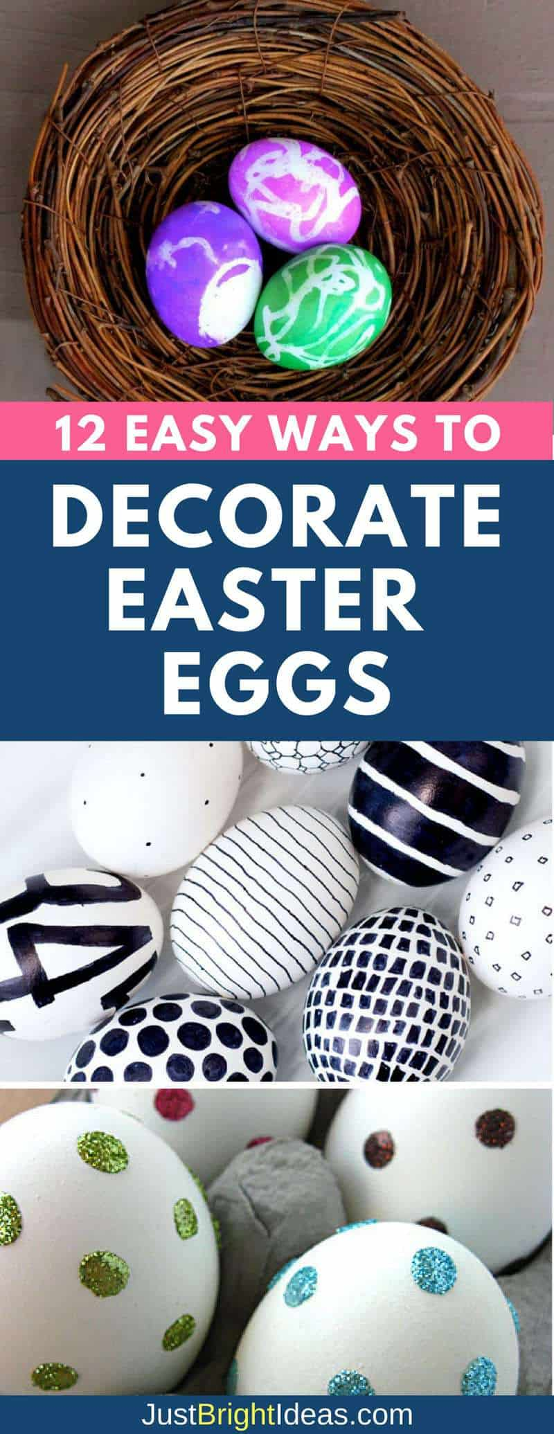 Easter Egg Decorating Ideas - Pinterest
