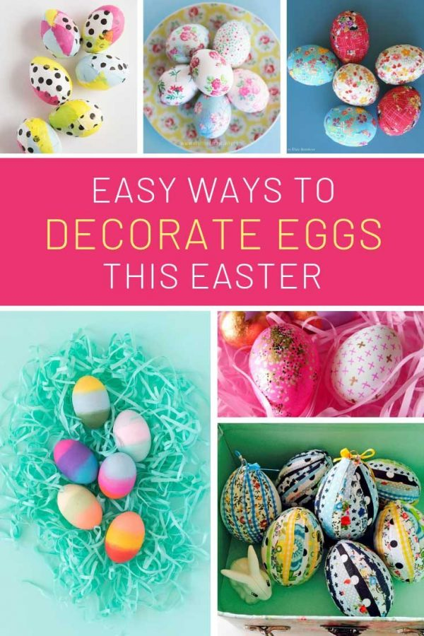 Loving these Easter egg decorating ideas - perfect for a party!