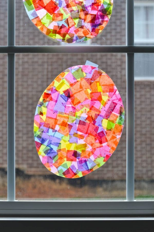 Easter Egg Sun Catcher Craft