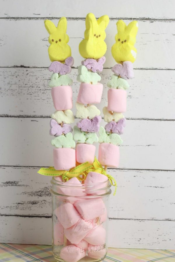 Easter Marshmallow Peep Bunny Treats