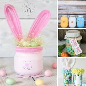 Easter Mason Jar Crafts DIY