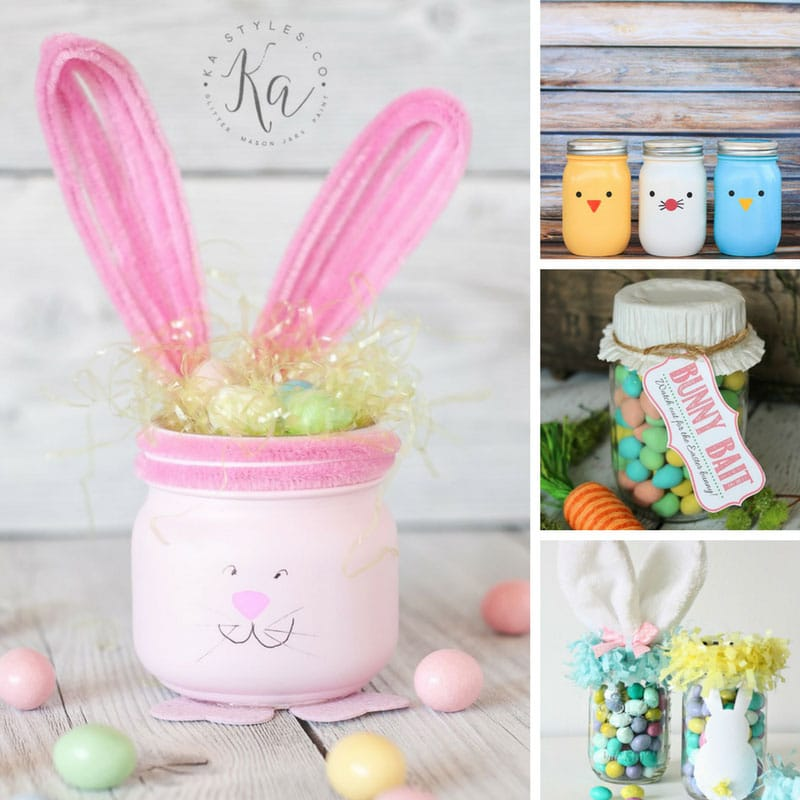 Easter Mason Jar Crafts DIY