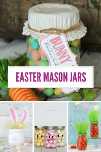 These Easter Mason Jar crafts are ADORABLE! Don't miss them!