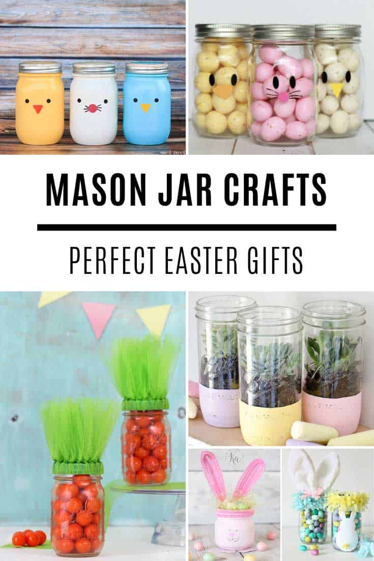 Loving these Easter mason jar ideas!