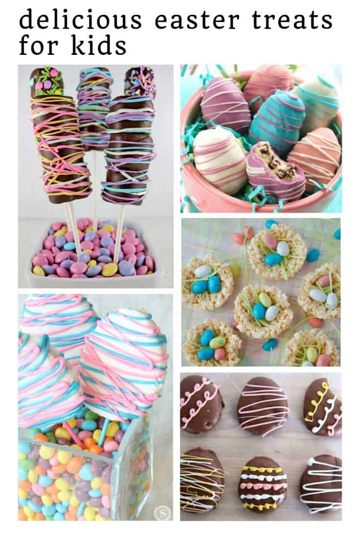 Oh my goodness these Easter treat ideas look so GOOD!