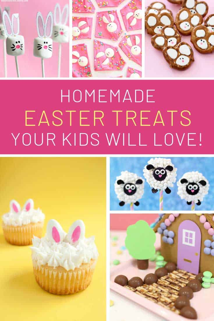 Loving these Easter treats for kids and they will too!
