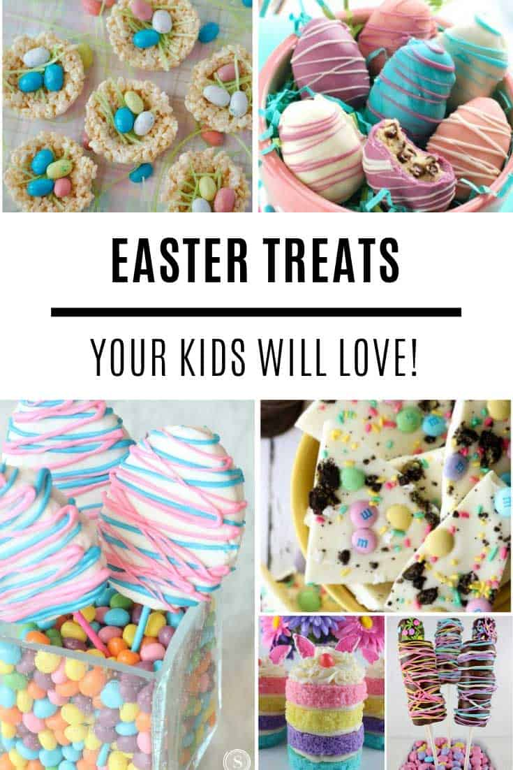 These Easter treats for kids are delicious!