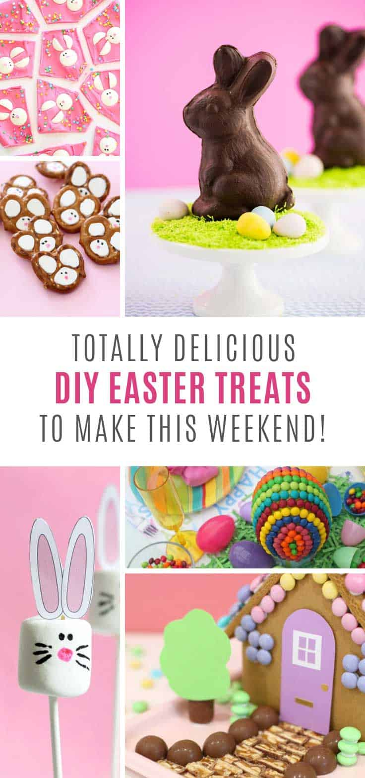 How cute are these easy Easter treats you can make at home!