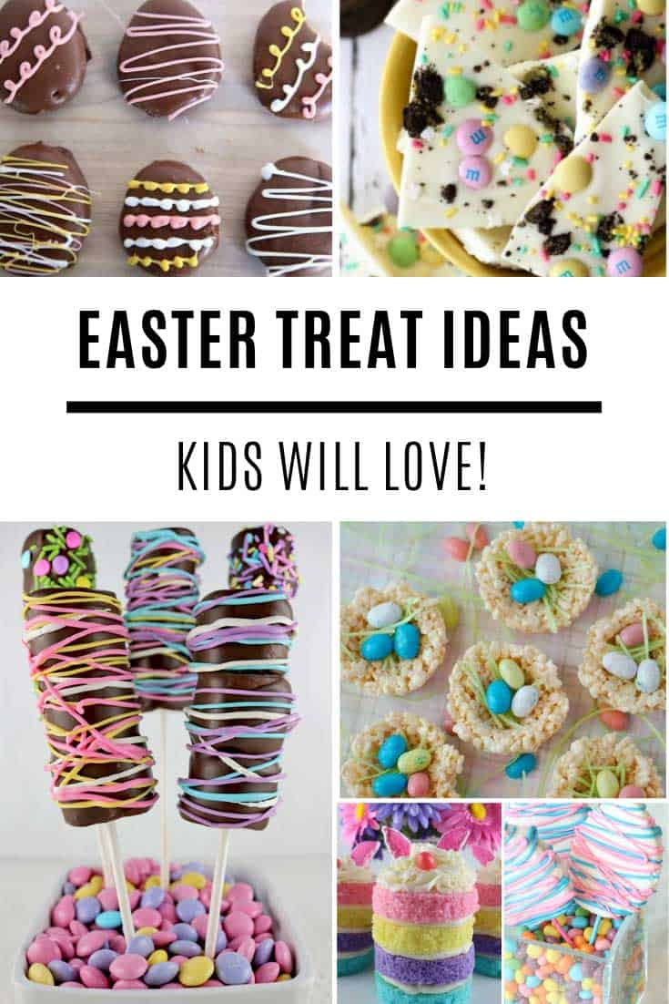 Ooh so many Easter treats to make for the kids!