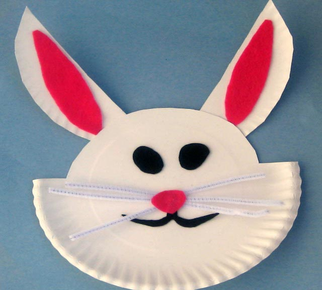 How To Make an Easter Bunny - Kid's Activities Blog