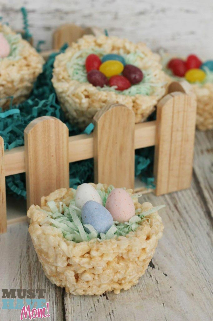 Rice Krispies Easter Baskets Recipe - Must Have Mom