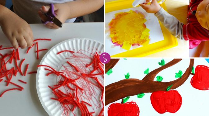 Easy Apple Crafts for Kids to Make and Other Apple Activities